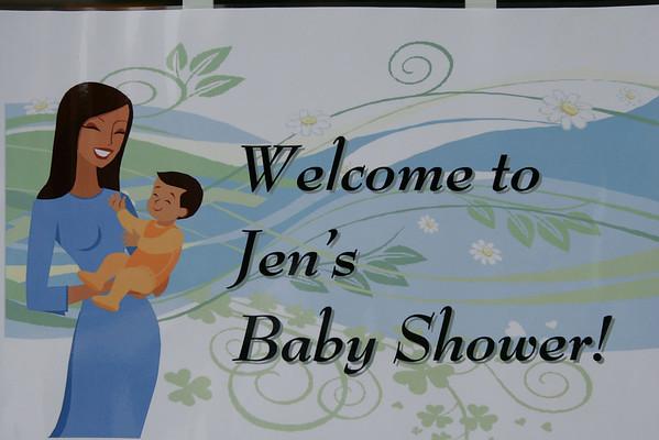Jen's Baby Shower Sept 2009