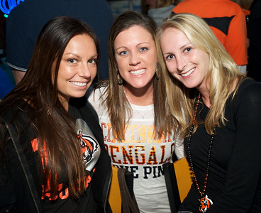 Jenny, Christin and Jen of NKY at Jerzees for the Bengals game Saturday
