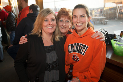 Danielle, Judy and Angie of NKY at Jerzees for the Bengals game Saturday