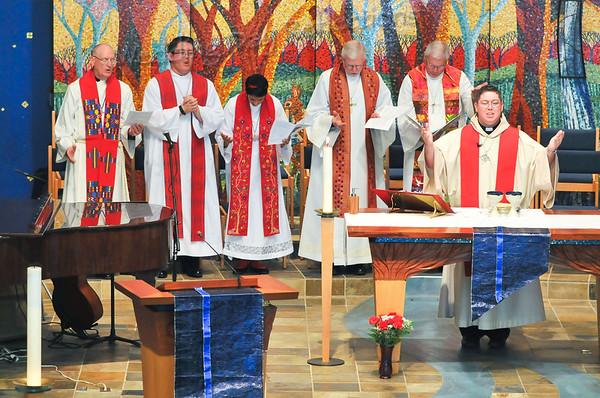 Jeremy's Ordination