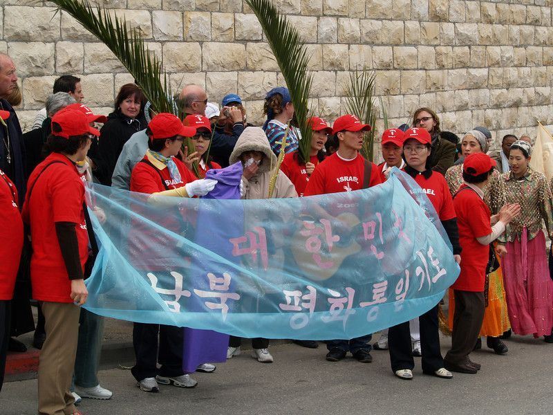 Pilgrims from South Korea