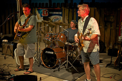 Ben Walz Band performs at JerZees in Newport Saturday night for the soft opening of their new outdoor patio.