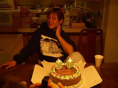 2006 (8/26) - Debbie's 20 Birthday (Janet Ching home)