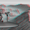 "This anagylph image contains two stereoscopic views of Mojave Crater. Each view is a separate color layer. Red and Cyan color glasses are used to filter and separate the two layers. Your left eye sees the red image, your right eye sees the cyan image. The visual cortex of your brain fuses the two images. The result: You perceive the image of Mojave Crater as a three-dimensional (3D) object. Mojave Crater is a 58.5-km-diameter impact crater in the Xanthe Terra region of Mars. The image was created from two Mars Reconnaissance Orbiter (MRO) High-Resolution Imaging Science Experiment (HiRISE) observations of Mojave Crater.<br /> <br /> Additional information on the Mars Reconnaissance Orbiter Mission can be found at:<br />  <a href=""http://www.nasa.gov/mro"">http://www.nasa.gov/mro</a><br />  <a href=""http://www.jpl.nasa.gov"">http://www.jpl.nasa.gov</a>"