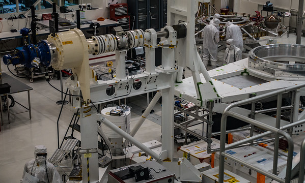 JPL Spacecraft Assembly Room
