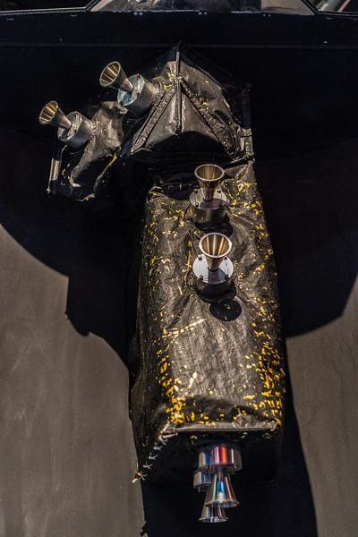 Galileo Spacecraft Closeup