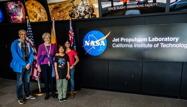 JPL Mission Control Lobby