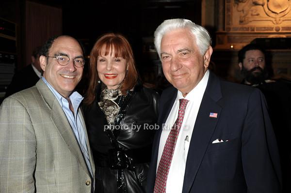 Larry Toppal, Carol Ostrow, Stanley Kreitman  photo by Rob Rich © 2011 robwayne1@aol.com 516-676-3939