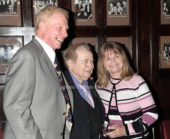 John Rodger,Joe Franklin, Joan Rodger photo by Rob Rich © 2011 robwayne1@aol.com 516-676-3939