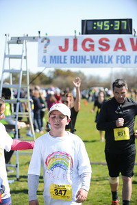 Jigsaw Race for Autism in East Islip 1275