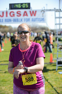 Jigsaw Race for Autism in East Islip 1290