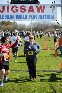 Jigsaw Race for Autism in East Islip 1414