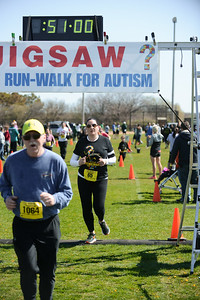 Jigsaw Race for Autism in East Islip 1421