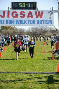 Jigsaw Race for Autism in East Islip 1412
