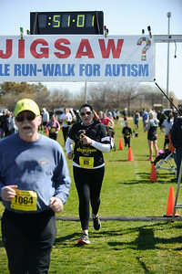 Jigsaw Race for Autism in East Islip 1422