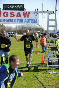 Jigsaw Race for Autism in East Islip 1574
