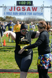 Jigsaw Race for Autism in East Islip 1666