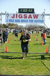 Jigsaw Race for Autism in East Islip 1664