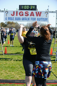 Jigsaw Race for Autism in East Islip 1665