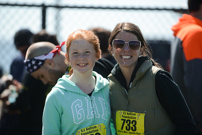 Jigsaw Race for Autism in East Islip 2103