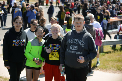 Jigsaw Race for Autism in East Islip 2105