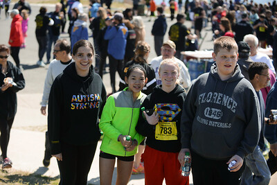 Jigsaw Race for Autism in East Islip 2104