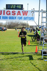 Jigsaw Race for Autism in East Islip 0345