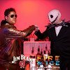 152 Jim Beam Fire and Ice Halloween by Zymage JZ