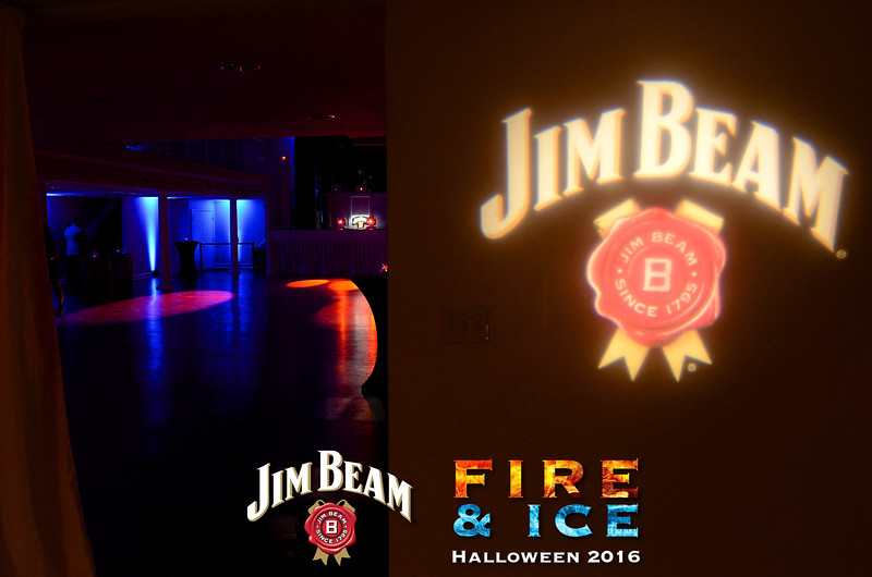 144 Jim Beam Fire and Ice Halloween by Zymage JZ