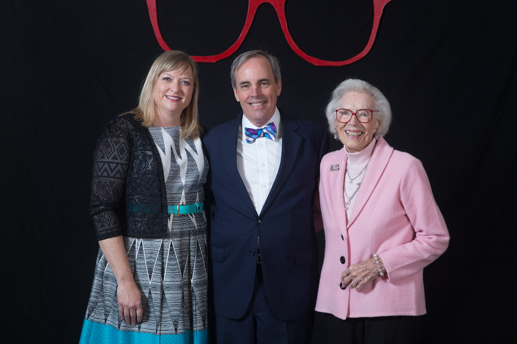 Joan Gilmore's 90th birthday party at the Skirvin Hotel.
