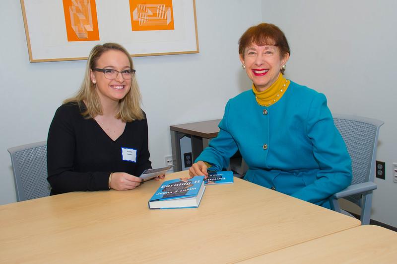 Joann Lublin Visit