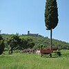 Sant'Anna in Camprena, on the hill