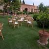 Lemon garden empties as people go to dinner