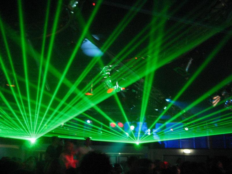 lasershow in Happy Dayzz