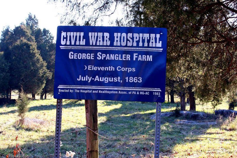 George Spangler Farm - Thanks to Dean we were some of few that have had permission to walk this property.