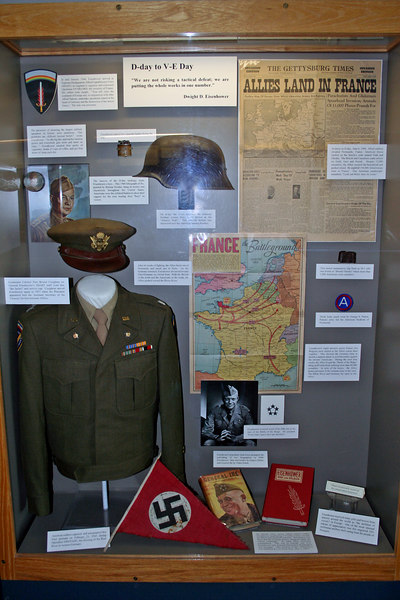 Display in Reception Center