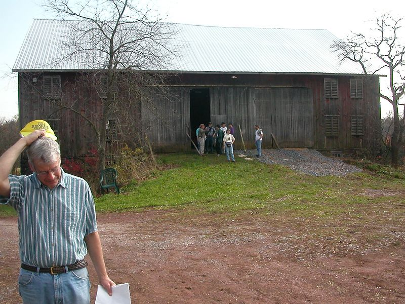 Hank Sheaffer's barn used for Confederate casulties.