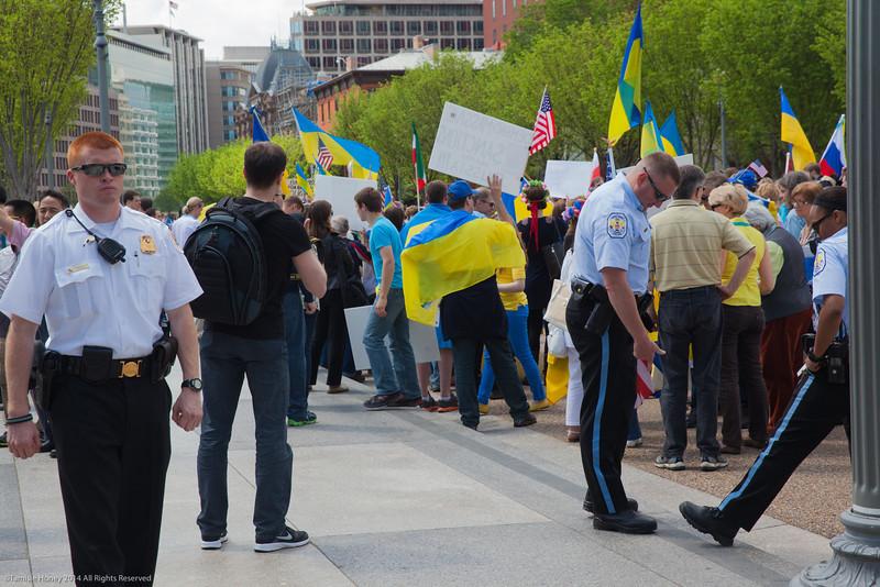 Ukranian demonstration
