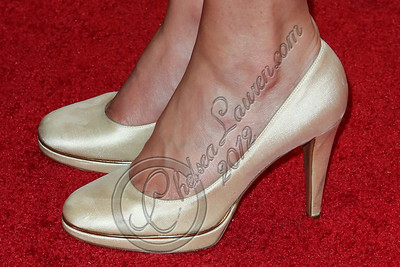 LOS ANGELES, CA - OCTOBER 17:  Actress Jamie-Lynn Sigler (shoe detail) attends the John Varvatos West Hollywood 10 year anniversary celebration featuring Paul Weller at John Varvatos Los Angeles on October 17, 2012 in Los Angeles, California.  (Photo by Chelsea Lauren/WireImage)