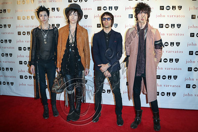 LOS ANGELES, CA - OCTOBER 17:  Palaye Royale attends the John Varvatos West Hollywood 10 year anniversary celebration featuring Paul Weller at John Varvatos Los Angeles on October 17, 2012 in Los Angeles, California.  (Photo by Chelsea Lauren/WireImage)