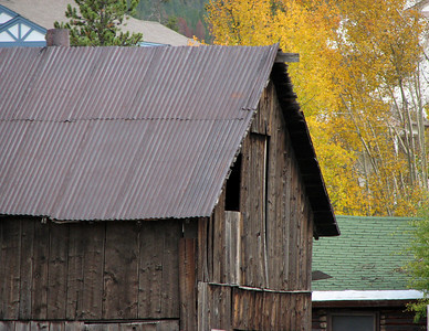 Old shed in Frisco CO