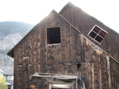 found this shed to be very interesting due to the angled window, upper right.