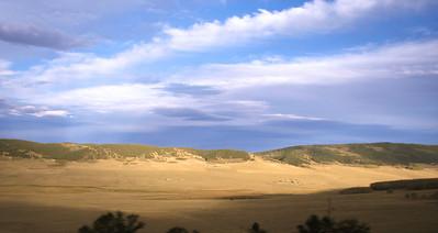 The high meadow in central Colorado