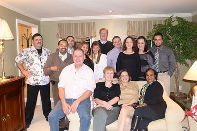 John & Bonnie Xmass  Party 12-21-13 BF Staff & Friends
