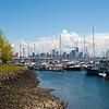 View of Seattle from Elliott Bay Marina