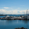 View of the southern end of Seattle from Elliott Bay Marina