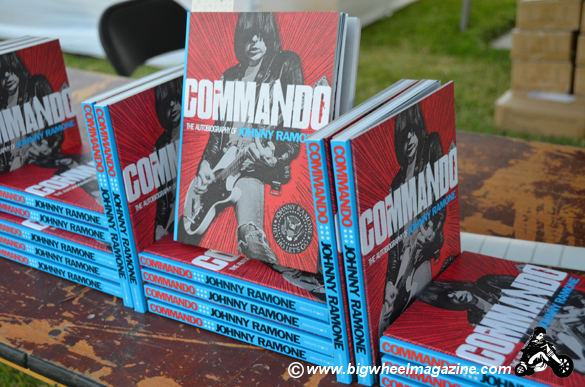 Johnny Ramone book - Commando photo