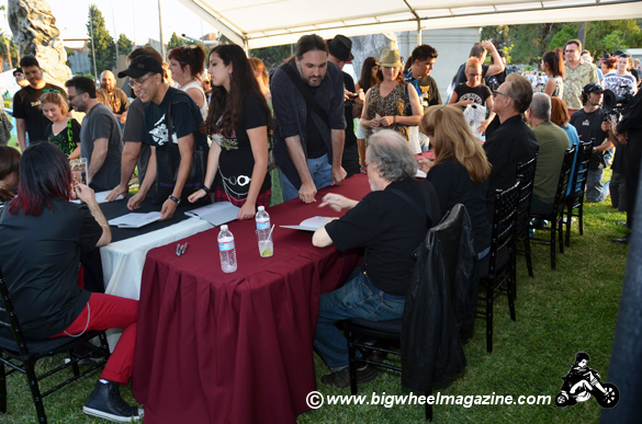 Photo - book signing 8th Annual Johnny Ramone Tribute - at The Hollywood Forever Cemetery - Los Angeles, CA - August 19, 2012