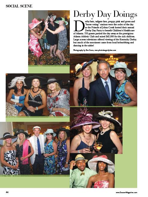 The Event was featured in Atlanta Social Season Magazine.