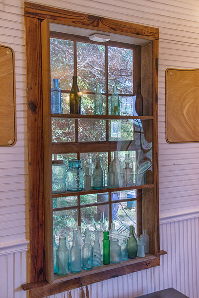 The Walnut Hill School House interior window